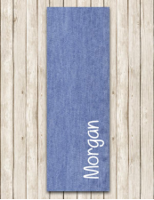Personalized Yoga , Pilates , Meditation Mat