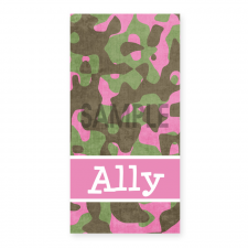 Ally Camouflage Towel
