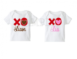 Personalized Kids Valentines Day T Shirt Custom Child S Tee