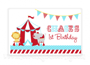 Personalized Smash Cake Placemat , Kids Circus Personalized Place Mat, Boys Circus Birthday, Childrens Placemats, Kids Personalized Gifts