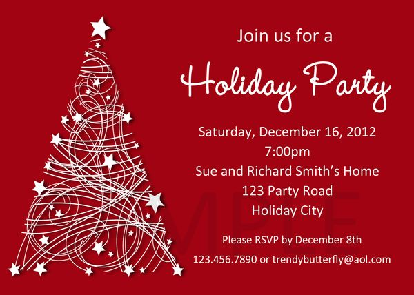Free Christmas Party Invitations is the best ideas you have to choose for invitation example