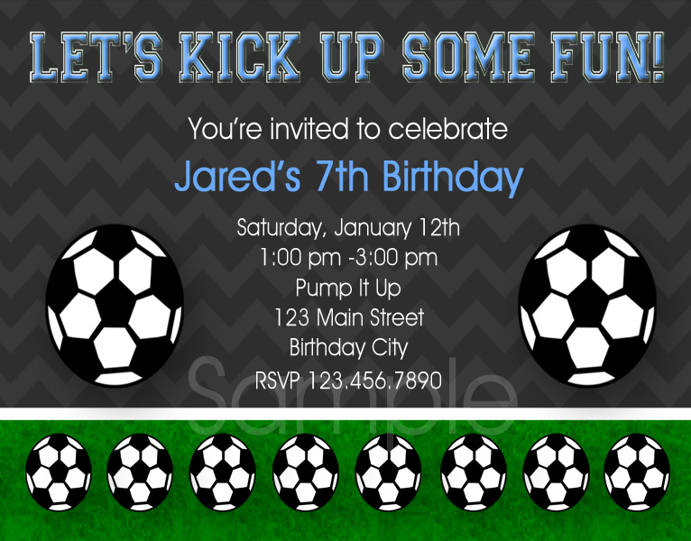 40th Birthday Ideas Free Printable Soccer Birthday