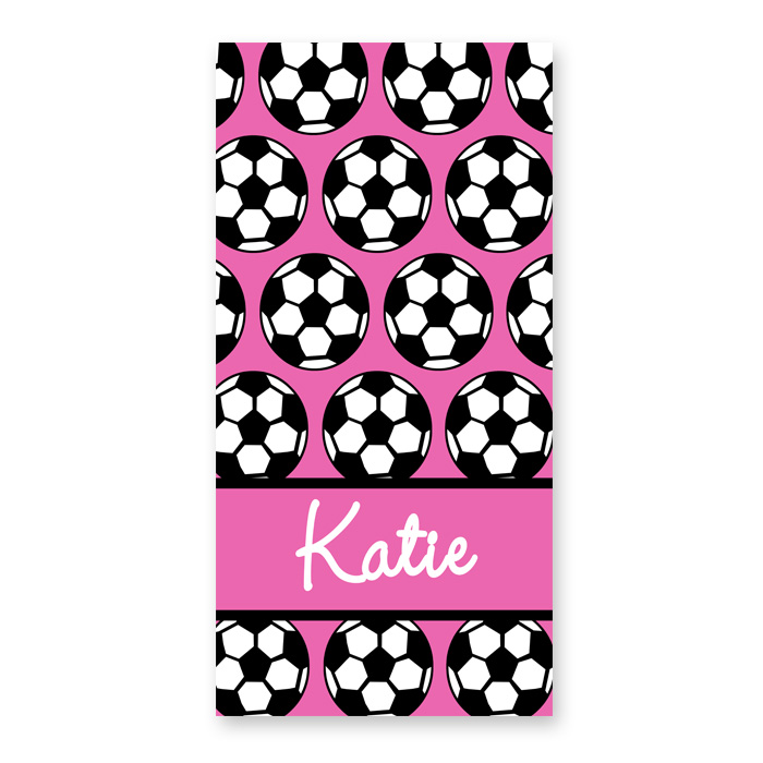 personalized beach towel for kids soccer towel personalized towel