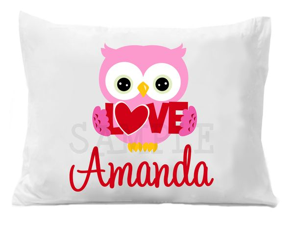 custom personalized pillow case - Valentine Pillow