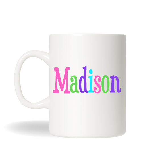 personalized monogrammed coffee mug custom name coffee mug name