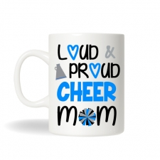 Cheer Mom Mug , Cheer Mom Gift, Cheer Mug, Sports Mug, Personalized Coffee Mug, Cheer Team Gift, Sports Mom Gift, Monogram Cheer Gift