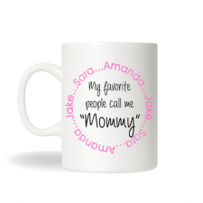 Personalized Coffee Mug, Personalized Mommy Mug, Coffee Mug for Mom, Gift for Mom, Mothers Day Gift, Christmas Gift, Birthday Gift