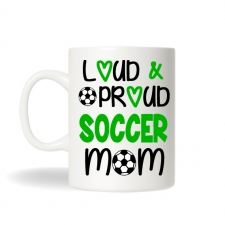 Soccer Mom Mug , Soccer Mom Gift, Soccer Mug, Sports Mug, Personalized Coffee Mug, Soccer Team Gift, Sports Mom Gift, Monogram Soccer Gift