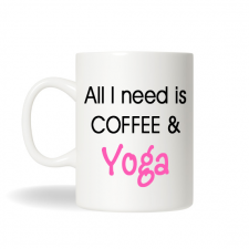Yoga Coffee Mug , Yoga Mug, Funny Coffee Mug , Custom Coffee Mug, Office Gift, Birthday Gift