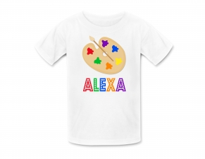 Art Birthday Party Tshirt ,  Art Personalized Shirt