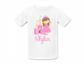 Princess Shirt, Princess Birthday Shirt, Personalized Princess Tshirt, Personalized Birthday Shirt, Princess Birthday Party, Birthday Shirt