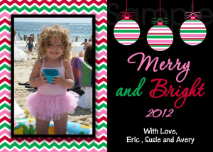 Print Your Own Holiday Cards
