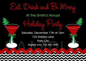 Print Your Own Holiday Invites