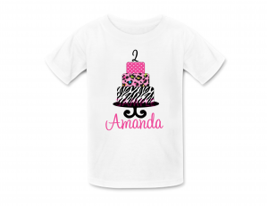 Birthday Cake T Shirt