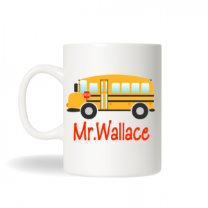 School Bus Driver Coffee Mug, School Bus Driver Gift, Teachers Coffee Mugs, Gifts for Teachers, Coffee Mug, Christmas Gift, Holiday Gift