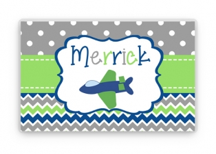 Personalized Placemat, Kids Personalized Place Mat, Airplane Personalized Gift, Plane Place mats, Kids Personalized Gifts, Airplane Gift