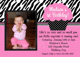Print Your Own Birthday Invitation
